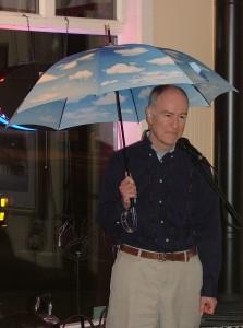 Mike Blue Umbrella