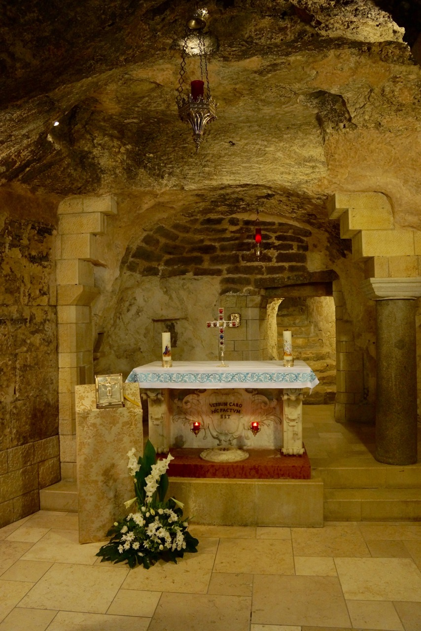 Mary's house (possibly), Basilica of the Annunciation, Nazareth