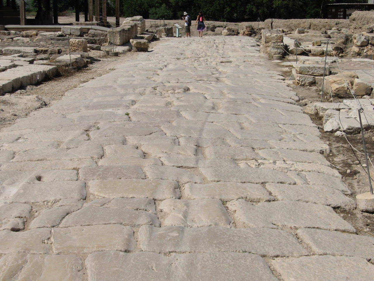 A Roman Road in Sepphoris