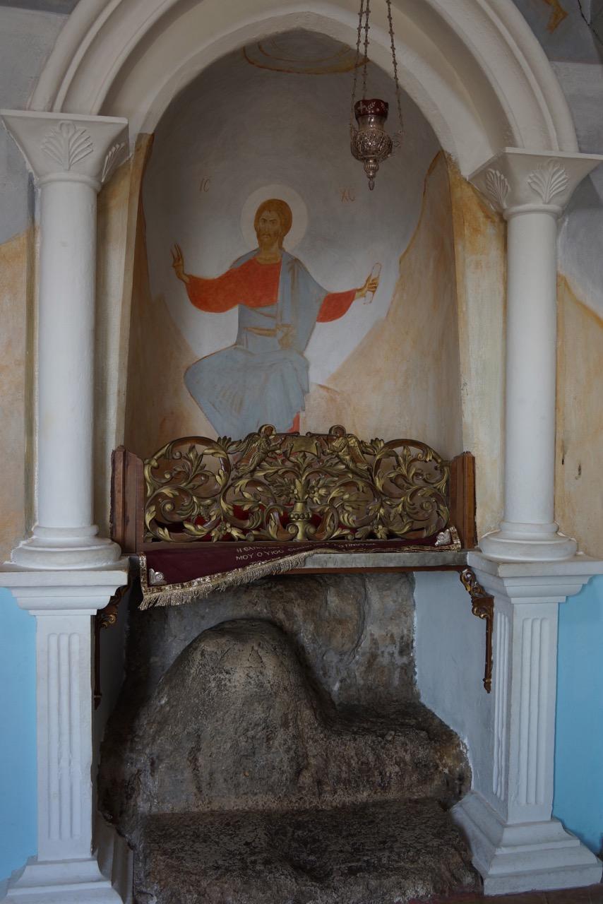 Temptation Stone, Monastery of Quarantal